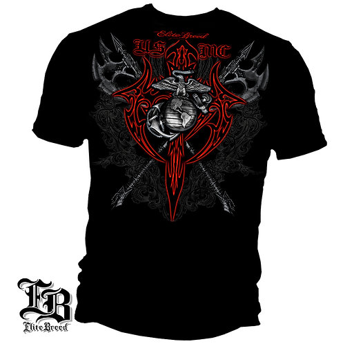 Elite Breed MARINE AXES RED TRIBAL