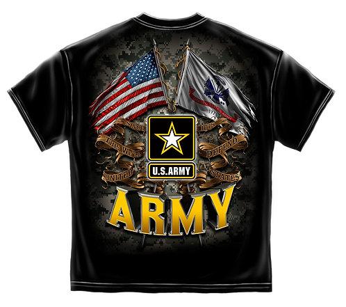 ARMY DOUBLE FLAG ELAGLE