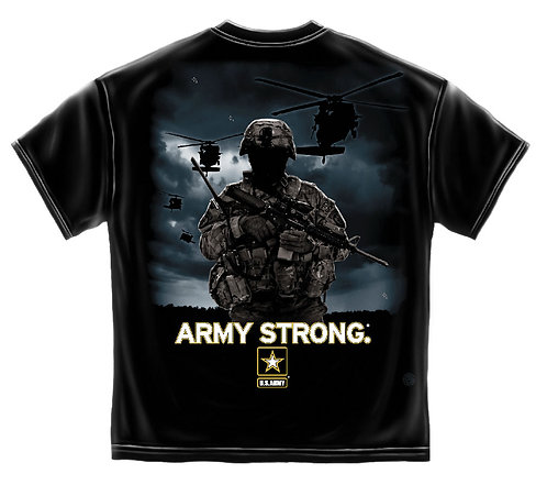 ARMY STRONG HELECOPTER SOLIDER