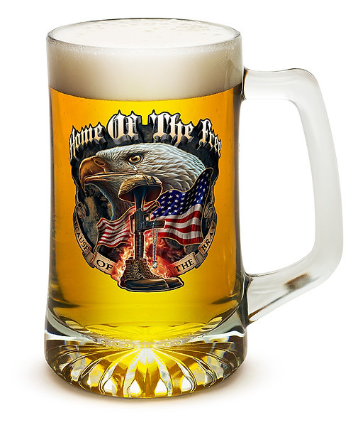 HOME OF THE FREE 25oz large Tankard