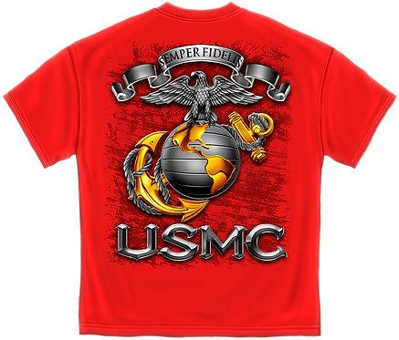USMC..SEMPER FIDETIS (RED)