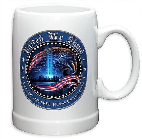 UNITED WE STAND 20oz Stoneware Mug