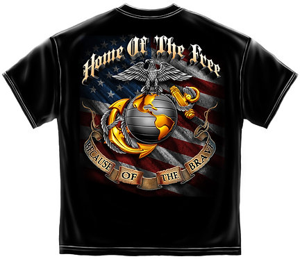 USMC HOME OF THE FREE