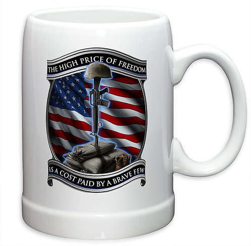 High Price of Freedom 20oz Stoneware