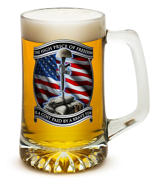 High Price of Freedom 25oz large Tankard