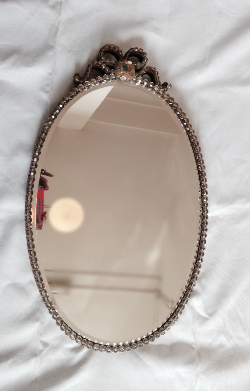 Glass Beaded Mirror