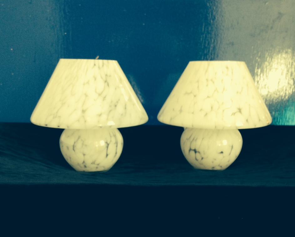 Murano Style Lamps