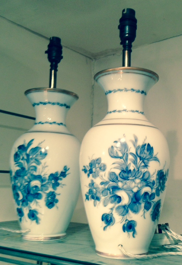 Hand Painted Opaline Glass