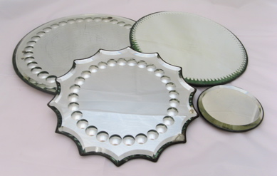 Mirrored Table Plateaux