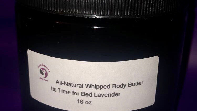 Family Size Natural whipped body butter!