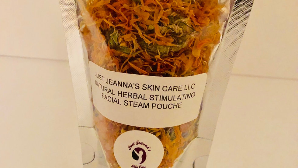 Natural Herbal Stimulating Facial Stream Pouche