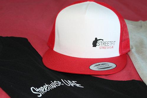Mesh Trucker Hats RED