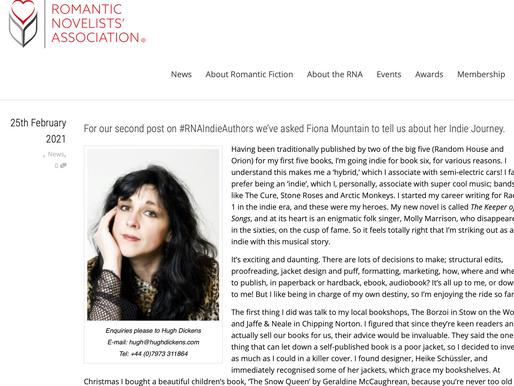RNA Blog - My Indie Journey