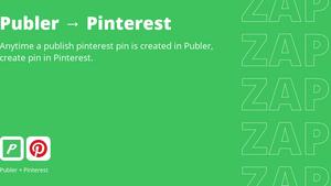 ZapExchange - Publer to Pinterest
