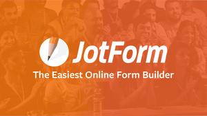 Jotform non-profit discount - apply now!