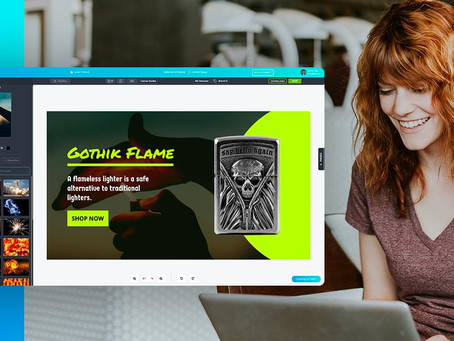 Glorify is THE FIRST graphic design tool focused on eCommerce businesses