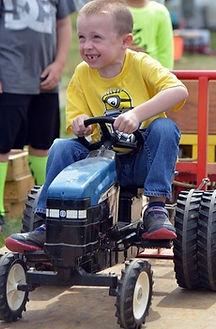 Kid Tractor Pulls