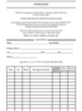 Exhibitor Entry Form