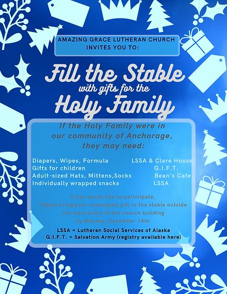 Amazing Grace Lutheran Church invites yo