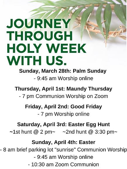 Sunday, March 28th_ Palm Sunday - 9_45 a