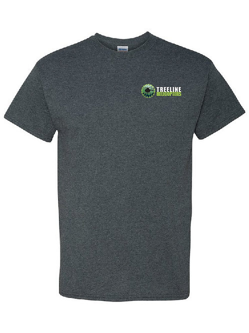 Treeline Helicopters Saw T-shirt