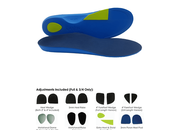 AXIGN ADVANCED FULL LENGTH ORTHOTICS