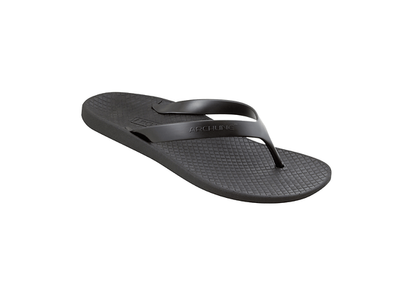 ARCHLINE BLACK ORTHOTIC THONGS