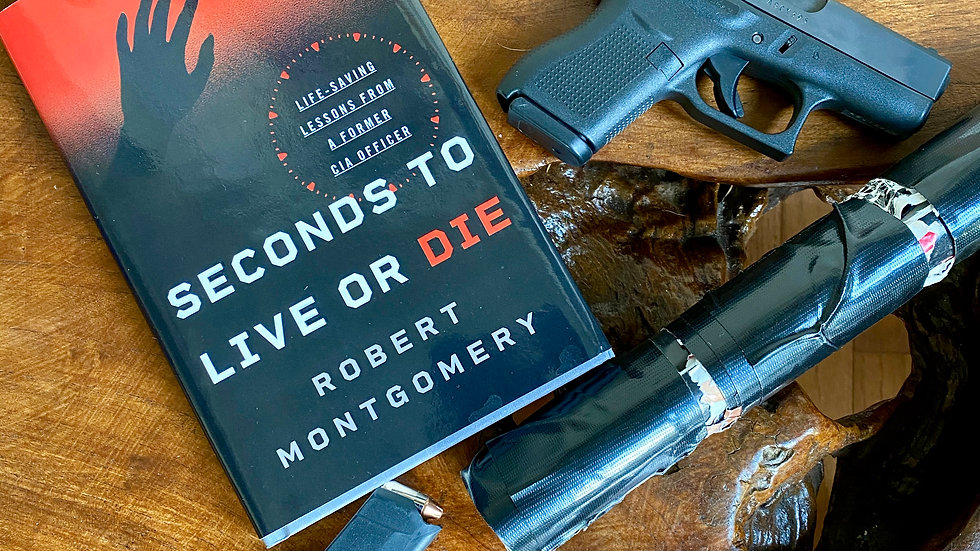 Hardcover: Seconds to Live or Die, Life-saving Lessons from a Former CIA Officer