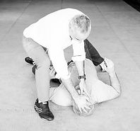 Training for how to defend yourself when being attacked