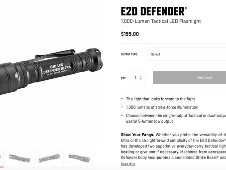 Improvised Weapons-the flashlight
