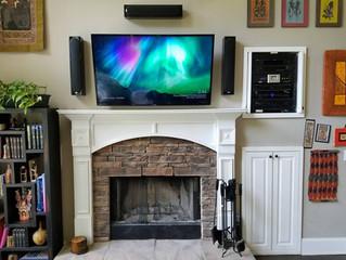 Speaker System Installation in Bloomington - Custom Low Voltage LLC