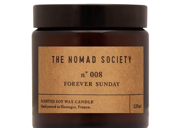 The Nomad Society Forever Sunday Candle