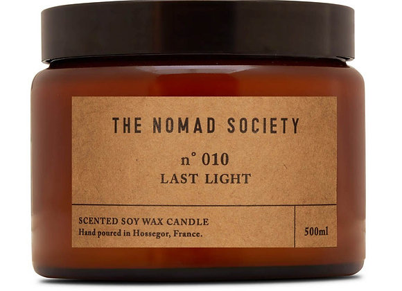 The Nomad Society Smoke & Wood Candle