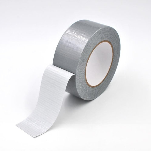 Silver Cloth / Duct Tape 48mm x 50m
