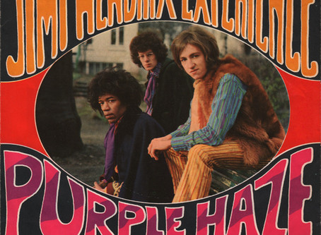 Dec. 26th - Today In Music History - Jimi Hendrix Experience Writes Purple Haze