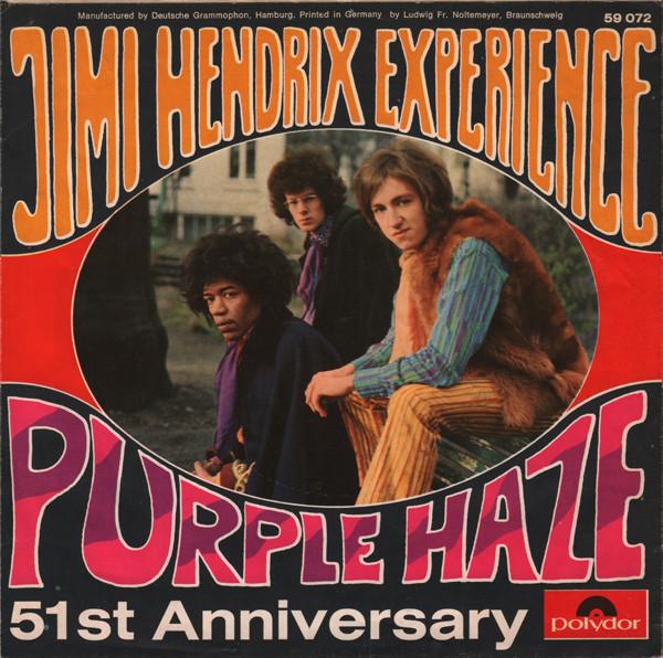 purple haze soul trust records jimi hendrix experience