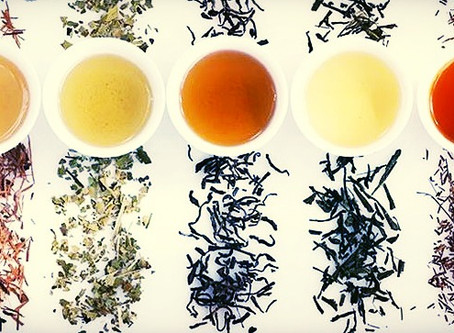 The 5 Major Types of Tea