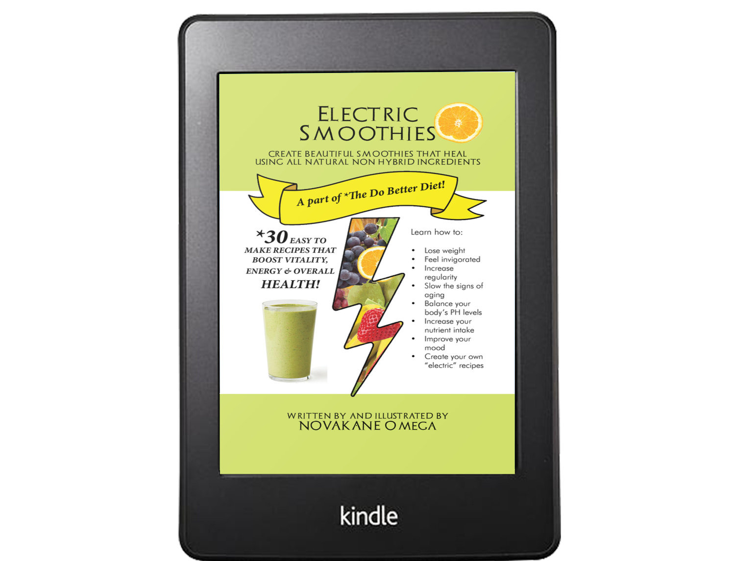 Electric Smoothie Ebook - Non Hybrid All Natural Drinks That Heal