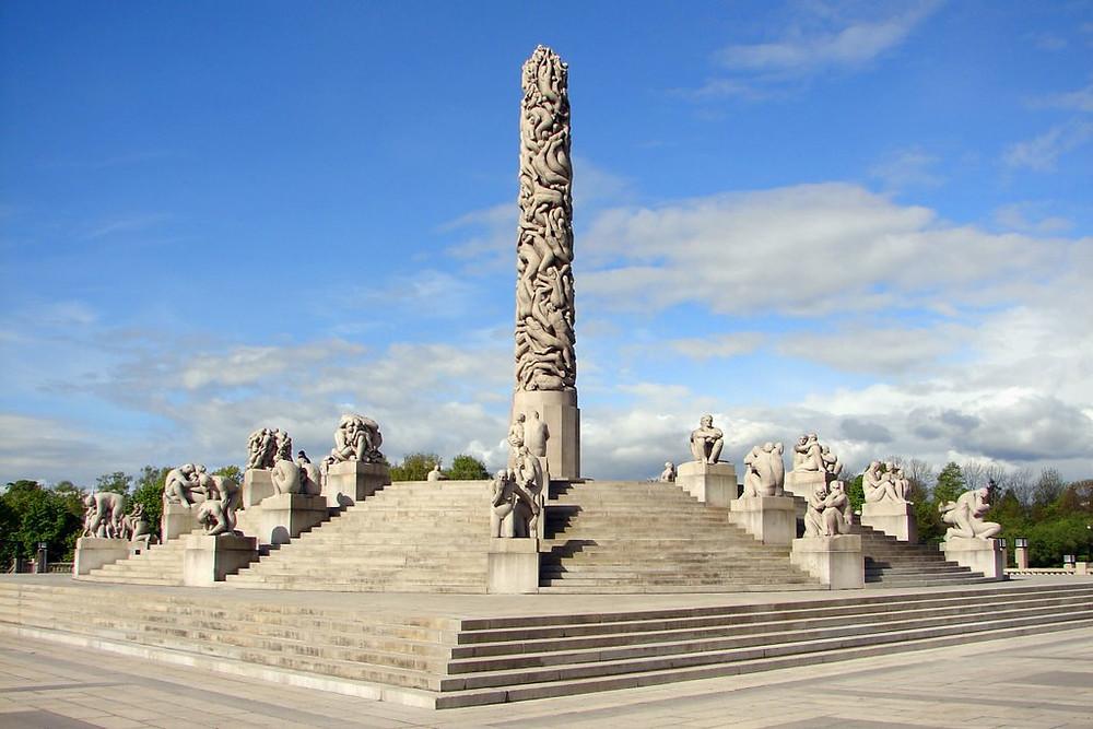 the monolith - vigeland park