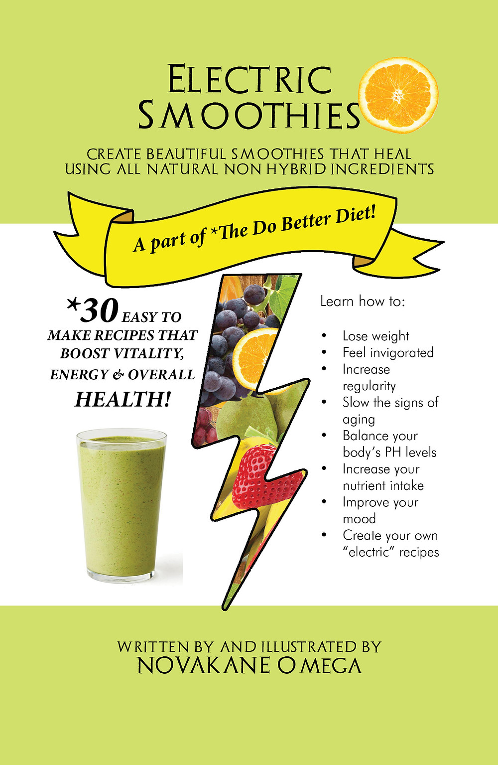 Electric Smoothie Ebook- Non Hybrid Smoothies