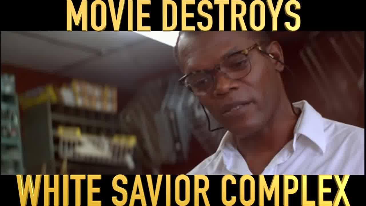 SAMUEL L JACKSON DESTROYS WHITE SAVIOR COMPLEX #CrumbTV