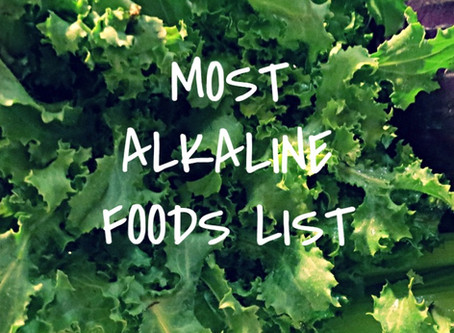 Most Alkaline Foods List