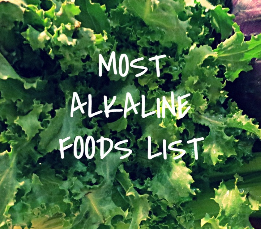 the most alkaline food list