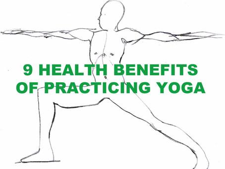 9 Benefits Of Practicing Yoga