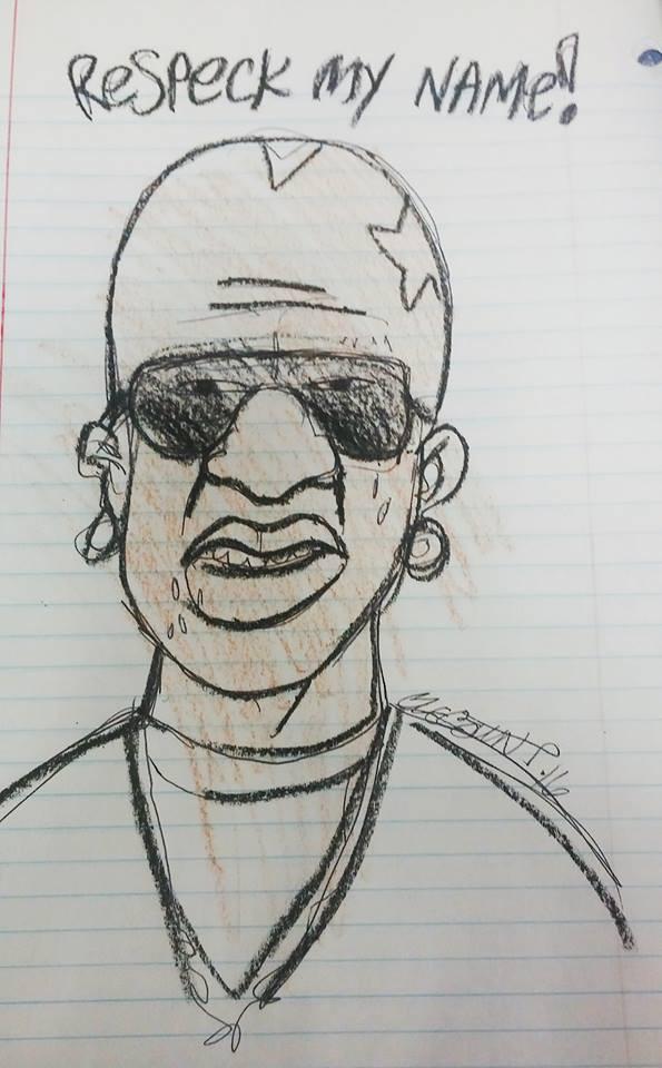"""80 Hip Hop Slang Words For """"Men"""" - birdman drawing by antagonist"""