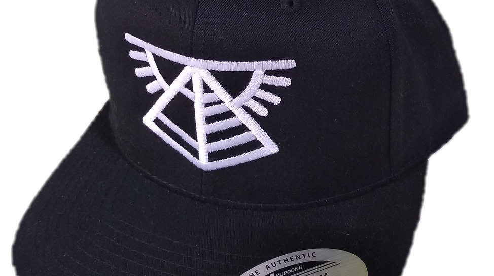 Pyramid Sunrise Embroidered Snapback