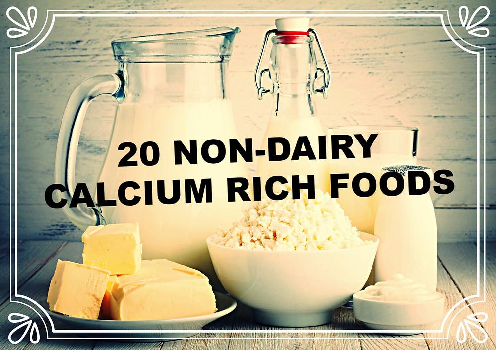 20 NON DAIRY FOODS RICH IN CALCIUM