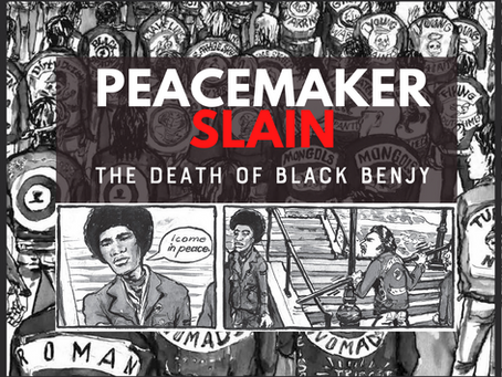 Peace Maker Slain! The Death Of Black Benjy & The Bronx Peace Treaty of 1971