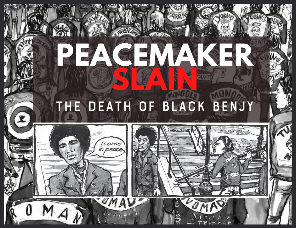 The Ghetto Brothers -Peace Maker Slain! The Death Of Black Benjy & The Bronx Peace Treaty of 1971