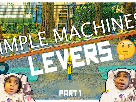 Simple Machines: The Lever (Part 1) Bam & Zak Explain How Levers Are Used